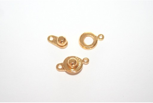 Brass Clasp Golden Color 10mm - 1pcs