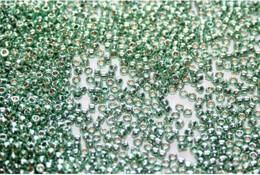 Toho Seed Beads Permanent Finish Galvanized Mint Green 15/0 - 50gr