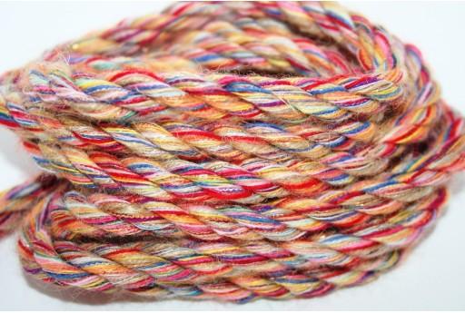 Corda Climbing Twisted Multicolor 10mm - 1mt