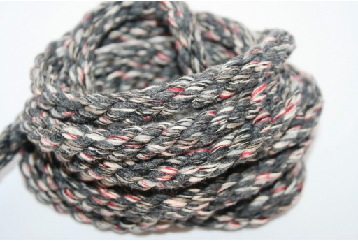 Corda Climbing Twisted Multicolor Grigio 10mm - 1mt