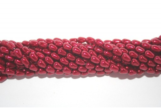 Teardrop Pearls Brick 5x7mm - 36pcs