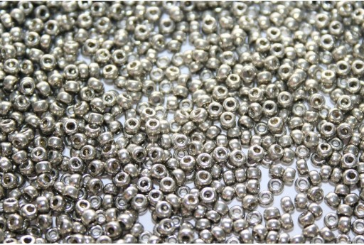 Miyuki Seed Beads Duracoat Galvanized Light Pewter 11/0 - Pack 100gr