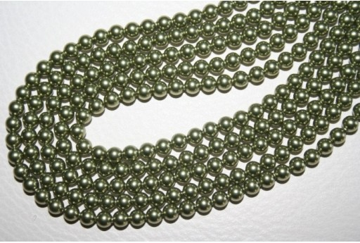 Swarovski Pearls Light Green 5810 4mm - 20pcs