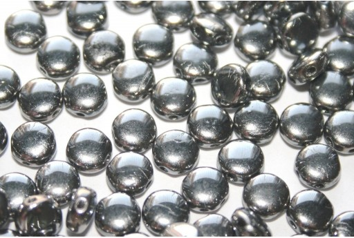 Discoduo® Beads Crystal Full Chrome 6x4mm - 30pcs