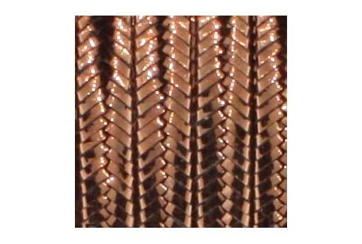 Rayon Soutache Metallic Bronze 3mm - 5mtr