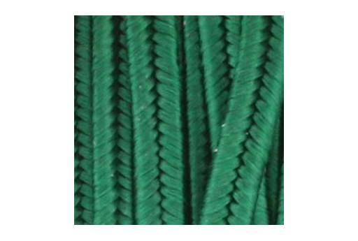 Rayon Soutache Forest Green 3mm - 5mtr
