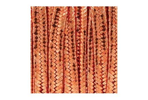 Rayon Soutache Metallic Copper 3mm - 5mtr
