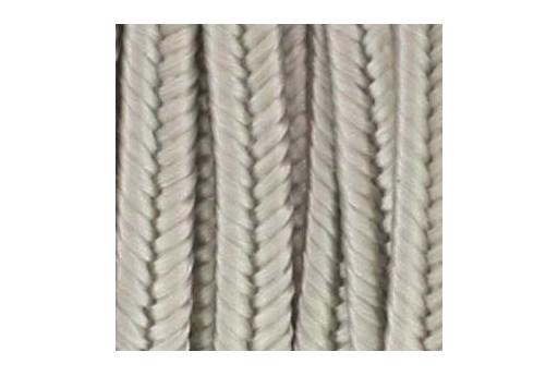 Rayon Soutache Cord Silver Grey 3mm - 5mtr