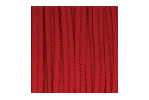 Rayon Soutache Cord Red 3mm - 5mtr