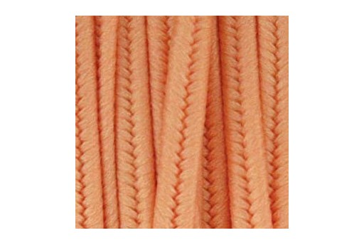 Polyester Soutache Cord Peach 3mm - 5mtr