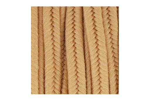 Polyester Soutache Cord Deep Beige 3mm - 5mtr
