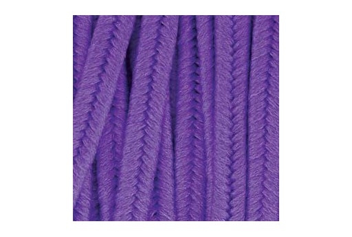 Piattina Soutache in Poliestere Dark Lilac 3mm - 5mt