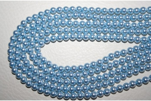 Perle Swarovski 5810 Light Blue 4mm - 20pz