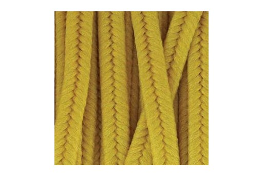 Polyester Soutache Cord Cadmium Yellow 3mm - 5mtr