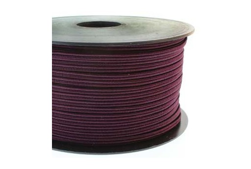 Italian Luxury Soutache Cord Aubergine 2,5mm - 4mtr