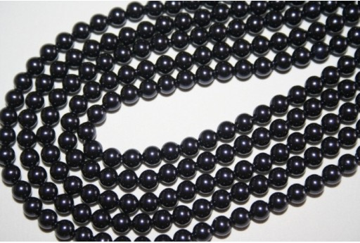 Swarovski Pearls Dark Purple 5810 4mm -20pcs