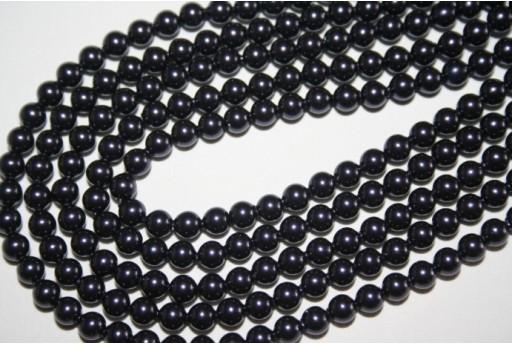 Swarovski Pearls Dark Purple 5810 4mm -20pcs