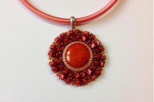 Kit Pendente LIRA Metallic Red