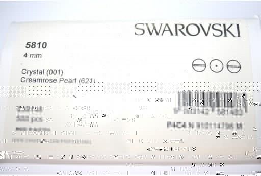 Perle Swarovski Elements 5810 Confezione Ingrosso Creamrose 4mm - 500pz
