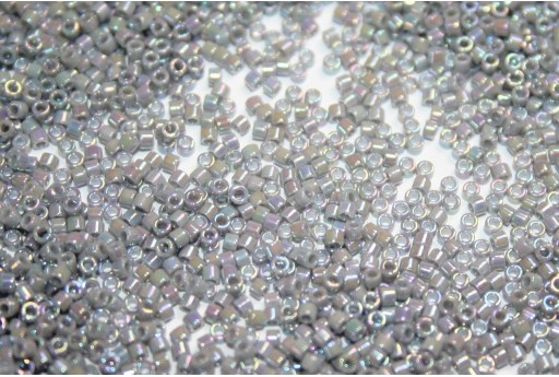 Miyuki Delica Beads Opaque Ghost Grey AB 11/0 - 8gr