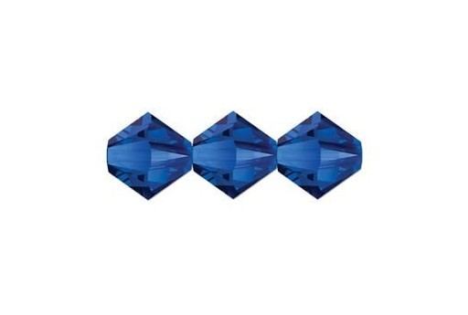 Swarovski Bicones Majestic Blue 5328 6mm - 6pcs