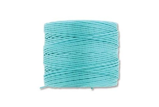 Super-Lon Bead Cord Aqua 0,5mm - 70mt