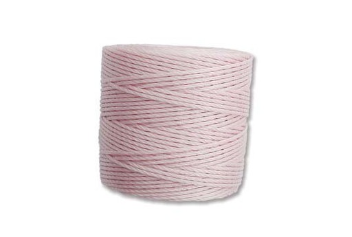 Super-Lon Bead Cord Blush 0,5mm - 70mt