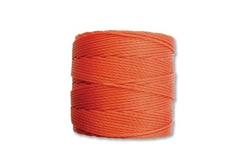 Orange Super-Lon Bead Cord 0,5mm - 70m