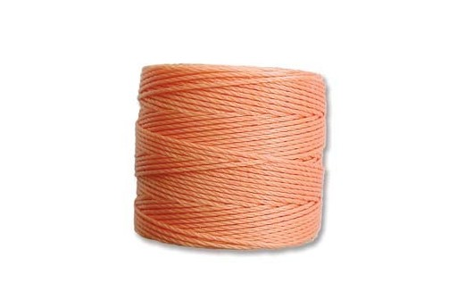 Super-Lon Bead Cord Pumpkin 0,5mm - 70mt