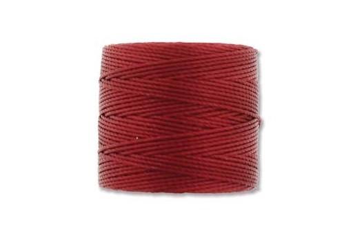 Super-Lon Bead Cord Red-Hot 0,5mm - 70mt