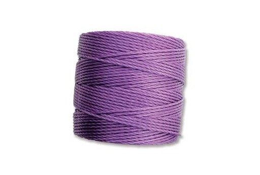 Violet Super-Lon Bead Cord 0,5mm - 70m
