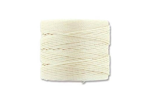 Super-Lon Bead Cord Vanilla 0,5mm - 70mt