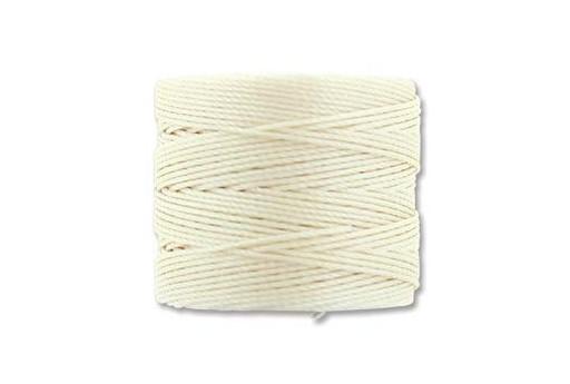 Super-Lon Bead Cord Vanilla 0,5mm - 70mt