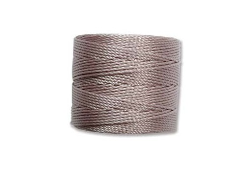 Super-Lon Bead Cord Silver 0,5mm - 70mt
