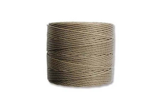 Sand Super-Lon Bead Cord 0,5mm - 70m