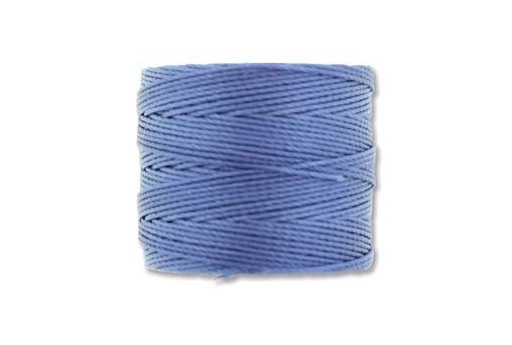 Periwinkle Super-Lon Bead Cord 0,5mm - 70m