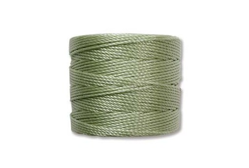 Peridot Super-Lon Bead Cord 0,5mm - 70m