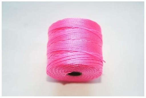 Super-Lon Bead Cord 70mt. Neon Yellow 0,5mm