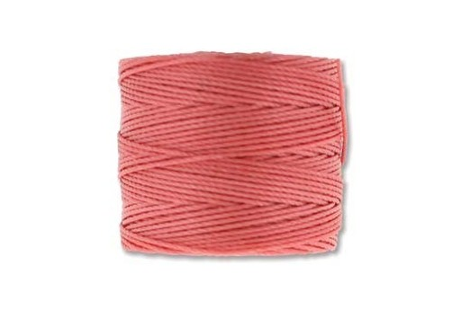 Super-Lon Bead Cord 70mt. Chinese Coral 0,5mm