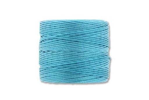 Super-Lon Bead Cord 70mt. Nile Blue 0,5mm