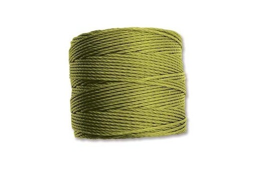 Super-Lon Bead Cord 70mt. Chartreuse 0,5mm