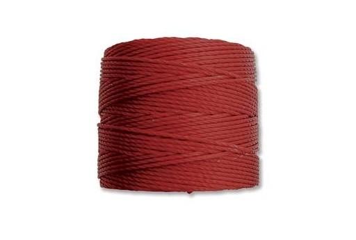 Super-Lon Bead Cord 70mt. Dark Red 0,5mm SL01D
