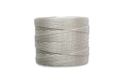 Super-Lon Bead Cord 70mt. Cream 0,5mm