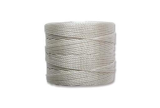 Super-Lon Bead Cord 70mt. Cream 0,5mm