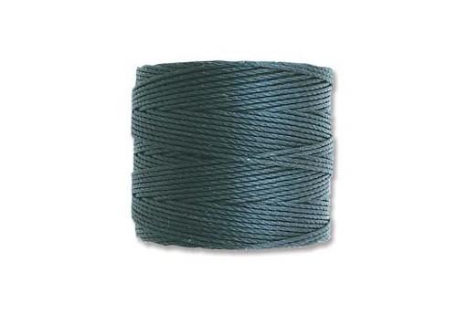 Super-Lon Bead Cord 70mt. Dark Teal 0,5mm