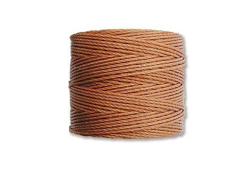 Super-Lon Bead Cord 70mt. Copper 0,5mm