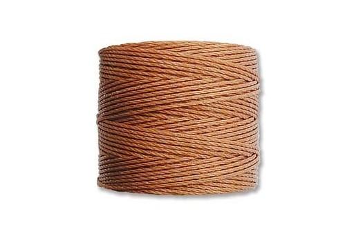 Super-Lon Bead Cord 70mt. Copper 0,5mm