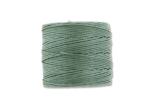 Super-Lon Bead Cord 70mt. Celery Green 0,5mm