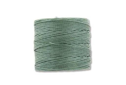 Super-Lon Bead Cord 70mt. Celery Green 0,5mm
