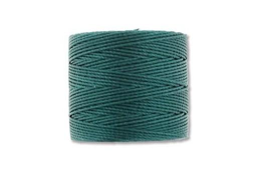 Super-Lon Bead Cord 70mt. Green Blue 0,5mm